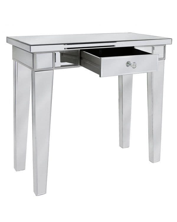 Classic Mirrored Console Table